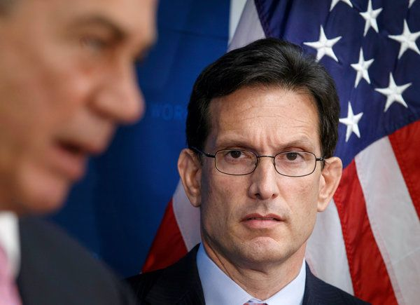 HUGE upset loss for Eric Cantor.