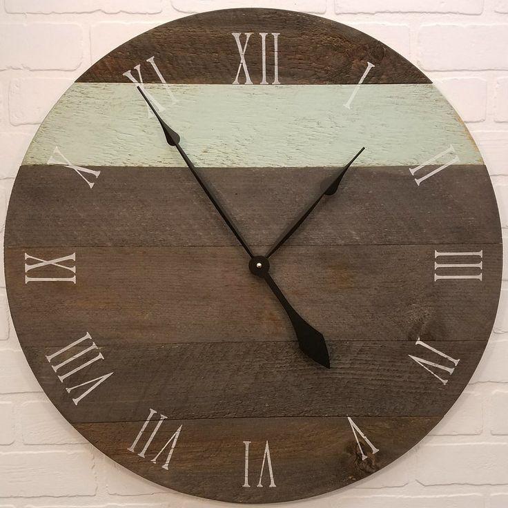 Best 25 Rustic Wall Clocks Ideas On Pinterest Large