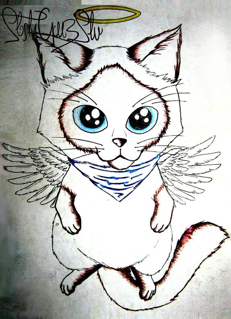 Sant Micky, RIP little cat. missing u