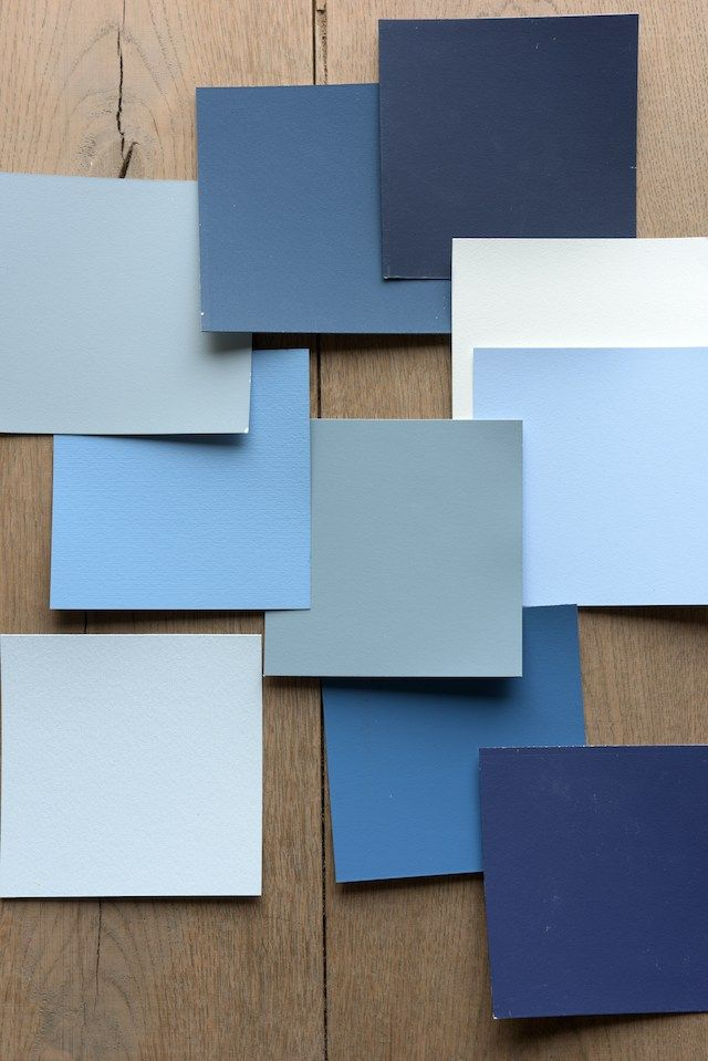 Colour Futures 2017 Interior trend color  | Denim Drift | Color Trend Blue