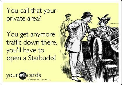 Gross! Starbucks. #whore. Ecard  humor  funny  laugh