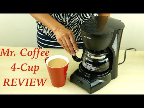 Hi Guys, today I'm reviewing the Mr. Coffee 4 cup coffee maker. LINK to Mr. Coffee 4-cup coffee maker: http://amzn.to/1GRTlRf It measures 9.5inches tall 6 …   									source   ...Read More