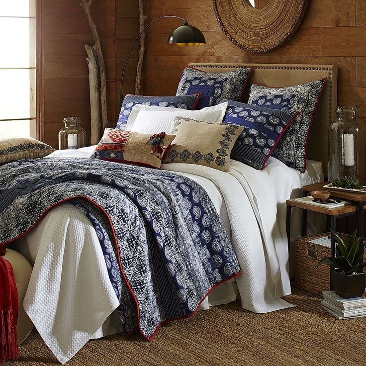 Cordoba patchwork quilt and sham pier 1 imports find this pin and more on master bedroom ideas