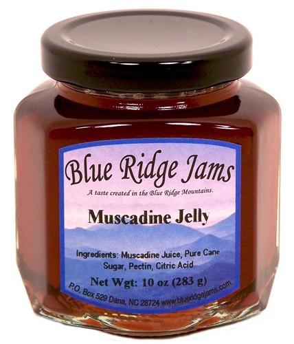 Blue Ridge Jams - Muscadine Grape Jelly, $6.50 (http://www.blueridgejams.com/products/muscadine-grape-jelly.html)