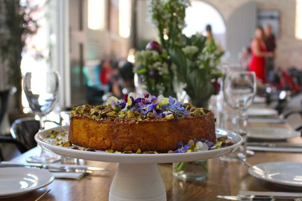 Spiced Orange, Almond and Coconut Cake in a sticky Jaggery Syrup – HoutenPlank