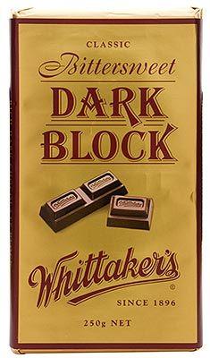 Dark Chocolate Block - Whittakers - 250g | Shop New Zealand