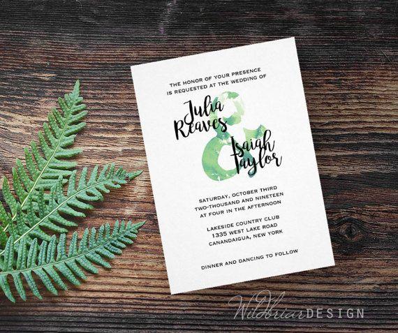 93 best Wedding - Reception Invitations images on Pinterest - fresh invitation wording reception