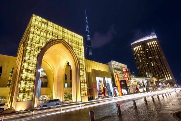 Dubai Mall, he world's largest and most-visited retail and entertainment destination.