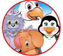 Dib, Dab, Doo and Dilly - search engine for kids