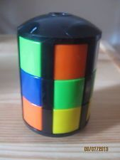 VINTAGE ORIGINAL 1980s RUBIKS BARREL PUZZLE - I liked it cos I could actually solve this one on  my own!