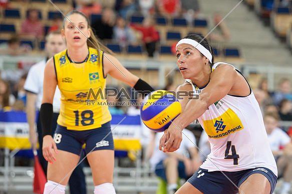 Paula Pequeno of Brazil Volleyball Team | © Mariusz Pałczyński / MPAimages.com