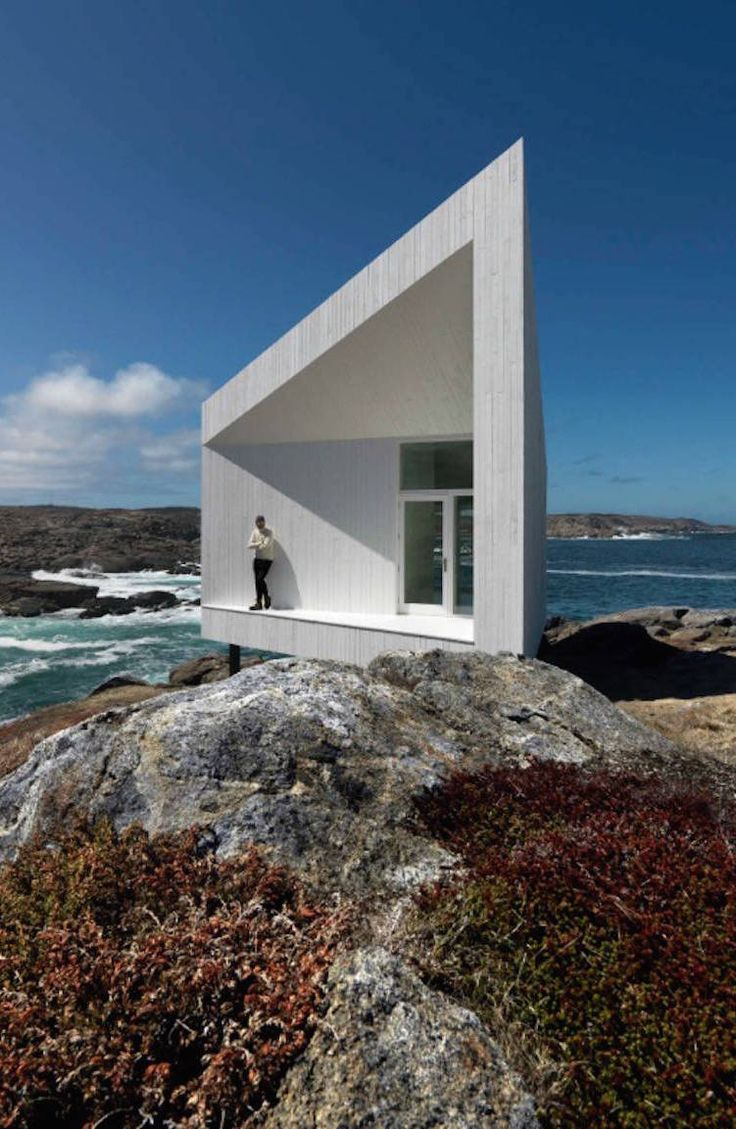 Architectural Artists Studios on Fogo Islands
