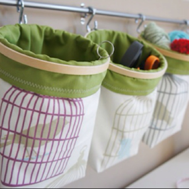 Embroidery hoop storage bags for the home pinterest