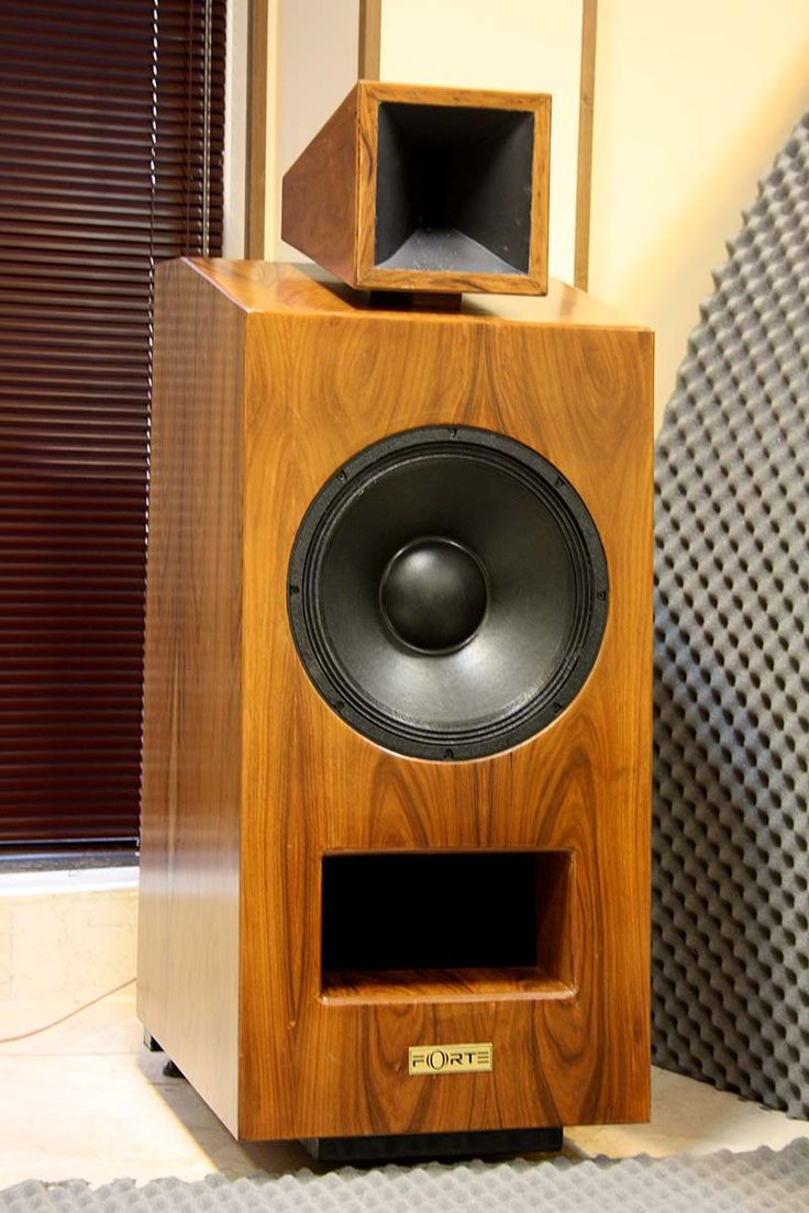 two ways horn speaker | Subwoofer box design, Diy ...