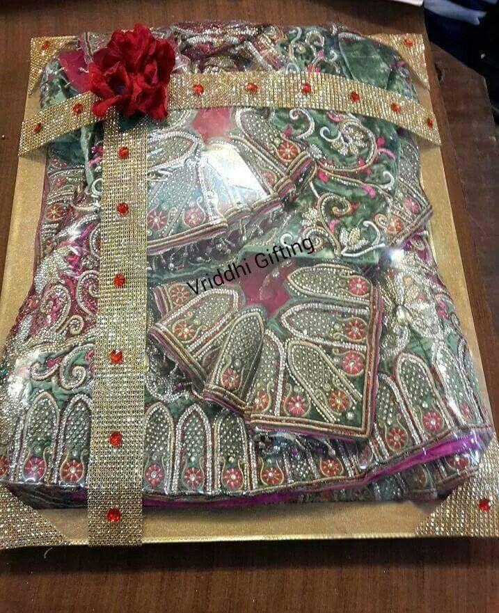 Indian Wedding Trousseau Gift Packing. Wedding gift