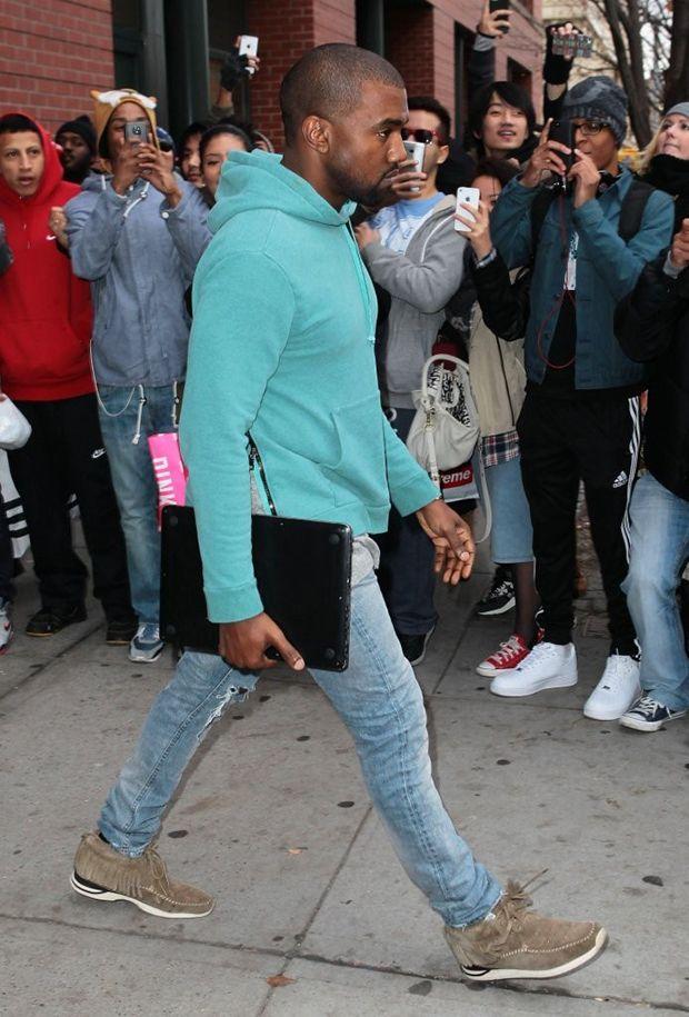 Kanye West in visvim Shaman