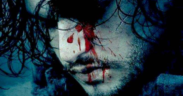 Jon Snow Returns in 'Game of Thrones' Season 6 Poster -- Kit Harington's Jon Snow is featured in a cryptic poster for Season 6 of HBO's 'Game of Thrones', teasing this beloved character's fate. -- http://movieweb.com/game-of-thrones-season-6-poster-jon-snow/