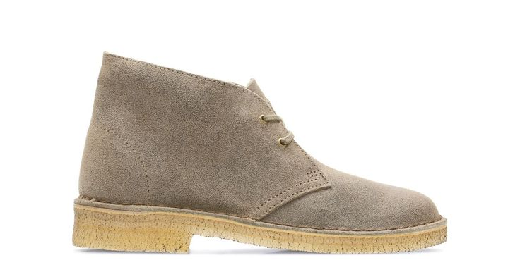 Desert Boot Taupe Distressed | Clarks