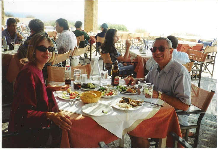 Lunch in Sounion