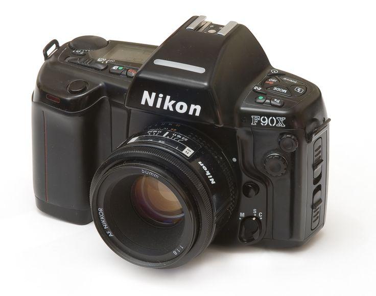 Nikon F90X: my film camera