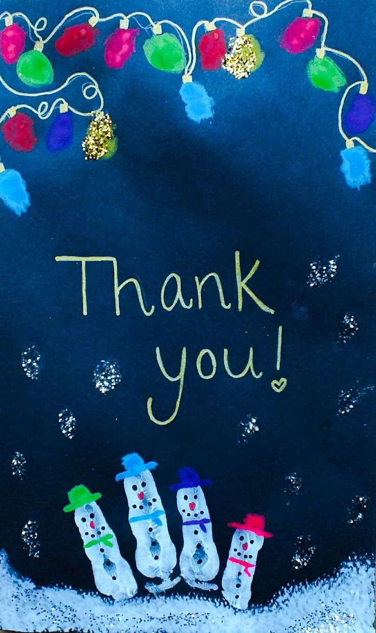 50 Best Thank You Cards By Kids Images On Pinterest Appreciation