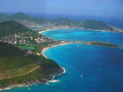 French Saint Martin Island | Saint Martin, St. Martin, French, Caribbean, Dutch, Sint Maarten, St ...