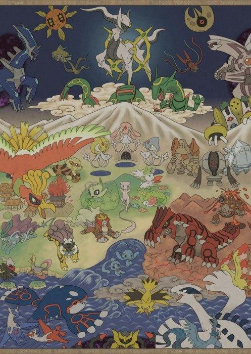 Mitologia pokemon