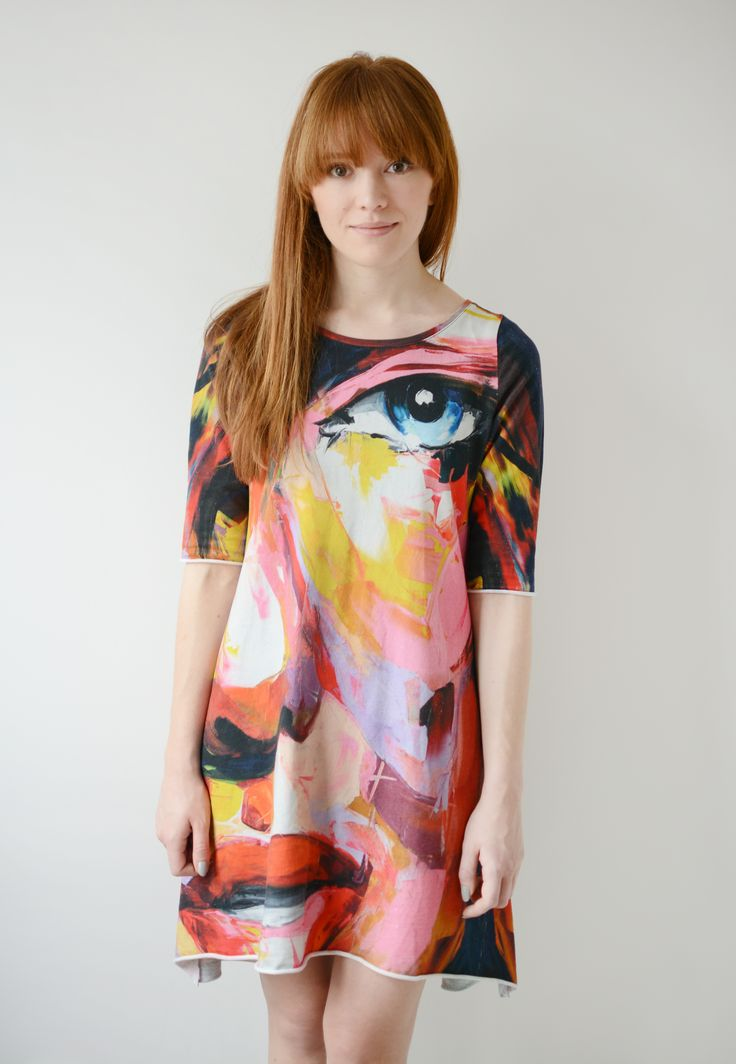 If you like colorful, original clothes - check this dress!