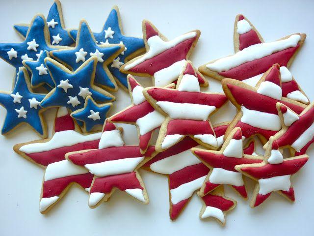 Patriotic Apple Pie Spice Sugar Cookies - Diary of a Mad Hausfrau