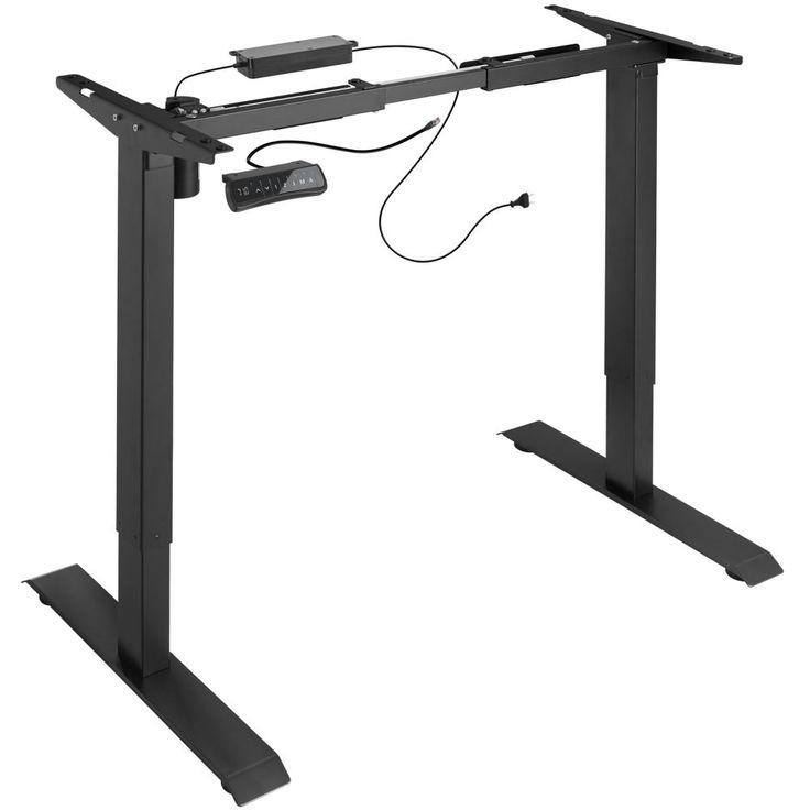Tischgestell Elektrisch Hohenverstellbar Memory Funkt Schwarz Desk Adjustable Height Desk White Office Furniture