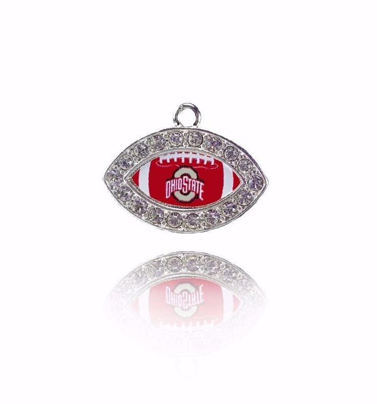 Ohio State Buckeyes Football NCAA Team Logo Charm Silver Ohio University in Jewelry & Watches, Fashion Jewelry, Charms & Charm Bracelets | eBay