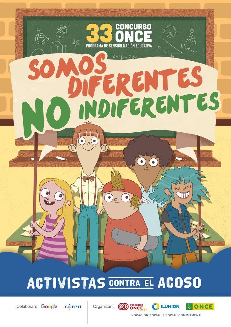 Programa de sensibilización escolar organizado por la ONCE y su Fundación contra el bullying escolar: Activistas contra el acoso