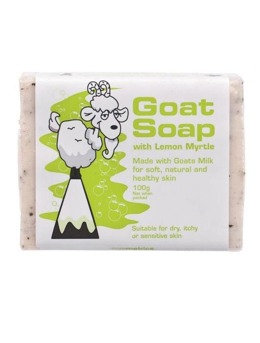 Goat Soap may be suitable if you have the following: Dry, itchy skin Acne Prone Skin Sensitive Skin Skin conditions such as Eczema, Dermatitis, Rashes that cause dry and irritated skin Ingredients: Made with goat milk for soft, natural and healthy skin elements. Made in Australia