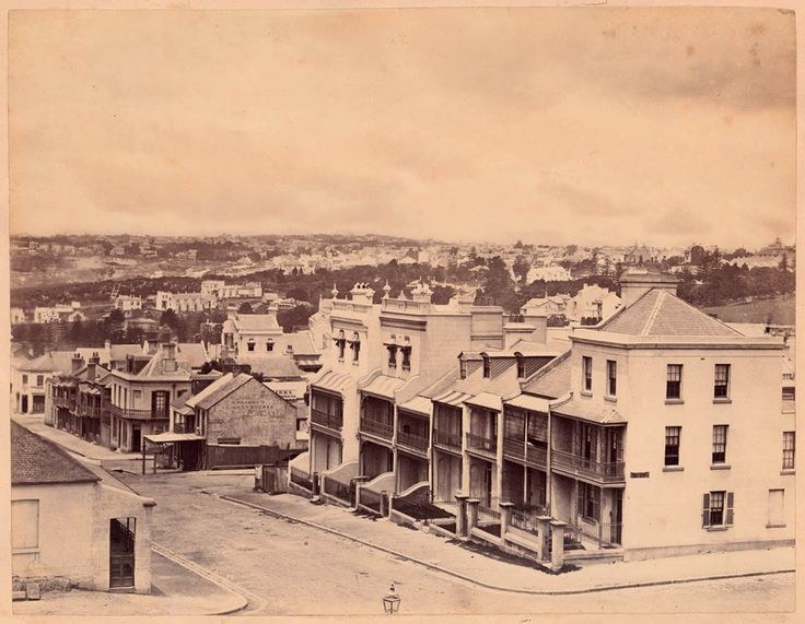 View from `Hilton', residence of John Rae, Liverpool Street, Darlinghurst