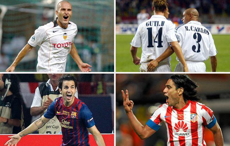 UEFA Super Cup's Best Goals!  http://www.thefootballmind.com/ramnarayan