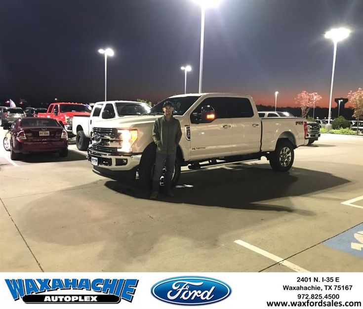 Congratulations Christopher on your #Ford #Super Duty F-250 SRW from Casey Gonzales at Waxahachie Ford!  https://deliverymaxx.com/DealerReviews.aspx?DealerCode=E749  #WaxahachieFord