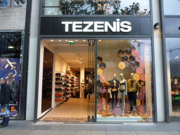 TEZENIS store in Berlin  #signs #furniture #arredi
