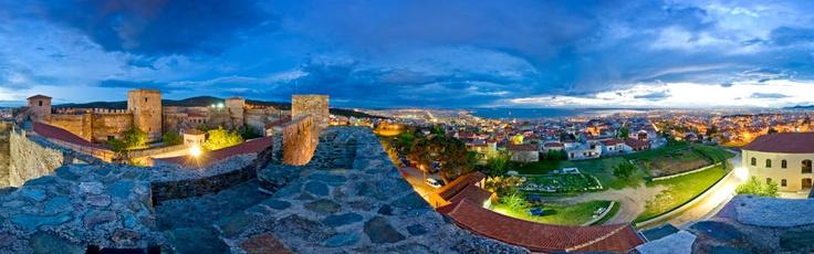 View of the city from the Roman castles (Thessaloniki-Greece) via www.Thessaloniki.360.com