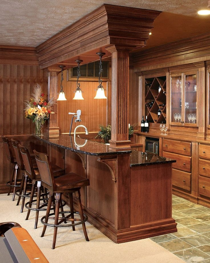 Pictures Of Bars In Finished Basements | bar ideas for finished basement