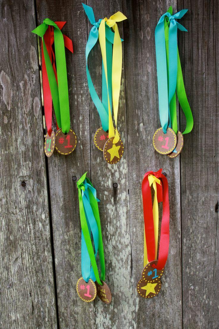 Field Day Awards Ribbons DIY