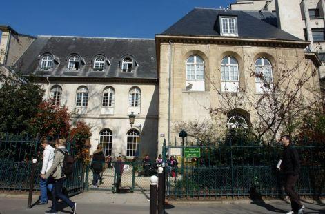Le boulevard St Germain à Paris