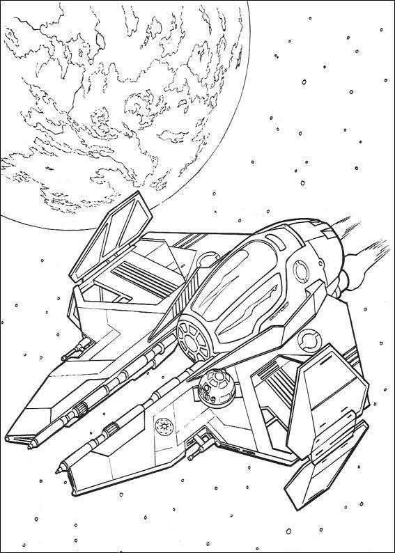 Star Wars Tegninger til Farvelægning 91