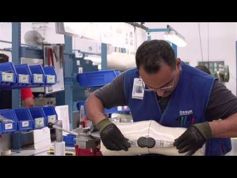 Ossur Custom CTI Knee Brace - How It's Made - DME-Direct.com - YouTube
