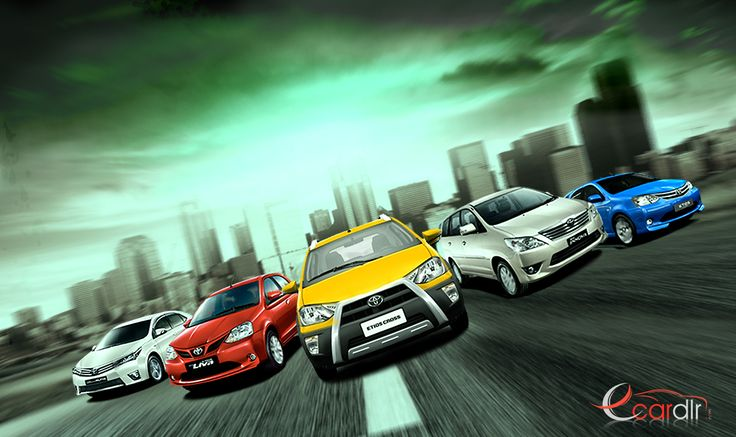 Toyota Toyota offers a range of 11 cars to choose from, Which are : Corolla Altis, Innova, Prado, Prius, Etios, Etios Liva, New Fortuner, Etios Liva TRD Sportivo, All New Camry 2012, Fortuner Sportivo TRD and Etios Cross for get more info about these cars visit us on: www.ecardlr.com