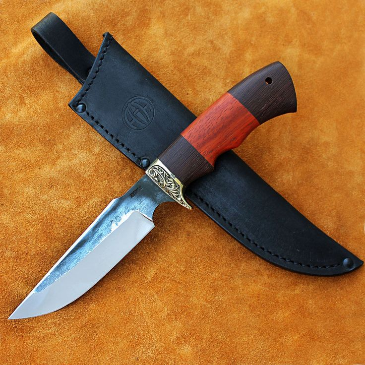 Gerber knives, Skinning knife, Custom hunting knives, Hand forged, Steel forge, Forged steel, Hunting knife, Fixed blade, Knife Collection by MrDagger on Etsy