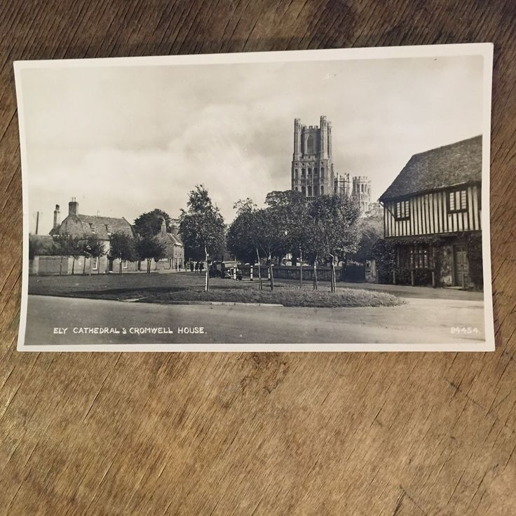 Ely Cathedral & Cromwell House RP Postcard Ref016 | eBay