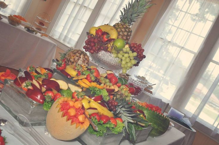 Fruit table. Wedding reception My Wedding Reception