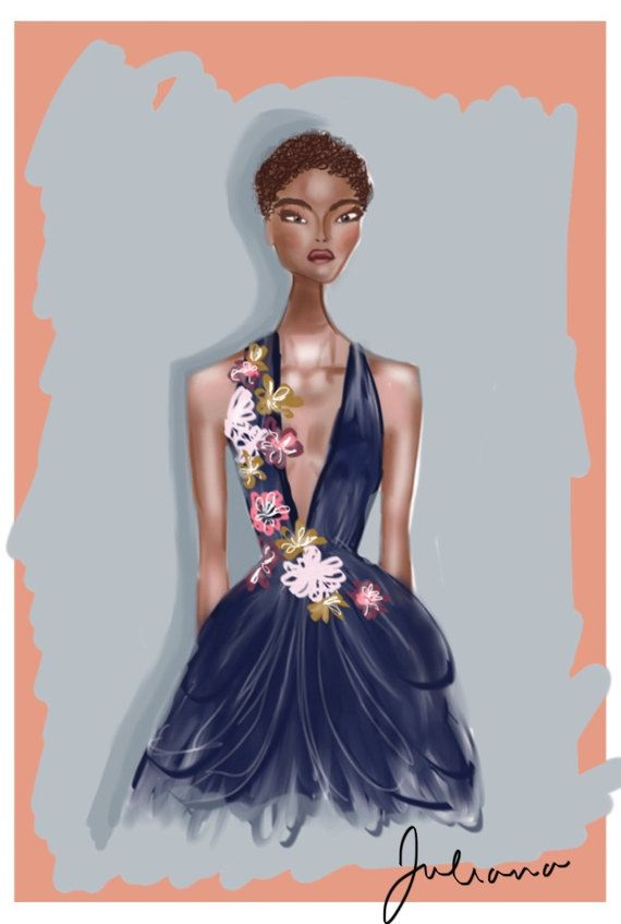 Marchesa Spring 2017 by orchidbyjulianareyes on Etsy