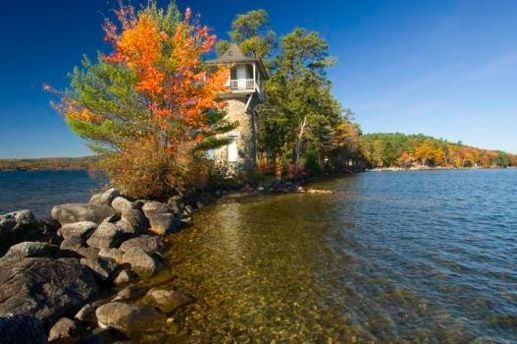 Spindle Point Lighthouse - Lake Winnipesaukee Meredith, NH