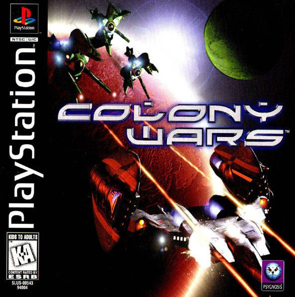 37 best ps1 favorite titles images on pinterest videogames retro box art for colony wars a starfighter simulation game released by psygnosis for the sony playstation in 1997 fandeluxe Gallery